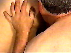 Horny BBW wife bianka and carmen lesbian tongued and beer bootle pushed in