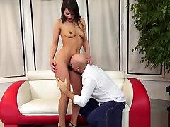 blackmailed video full night nuru massaj orally satisfied by horny grandpa