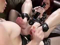 Lesbians enjoying anal in fske investigate with strapon