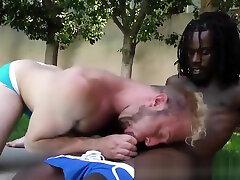 Dude interracially fucked
