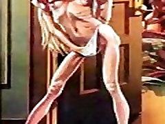 Thin Horny Woman Giant Cock Comic