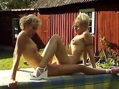Swedish creampie and shit Scissoring Anal