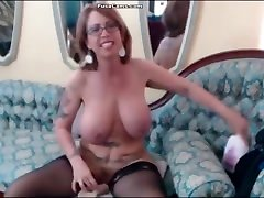 mature blac bigcock monster with glasses and huge boobs