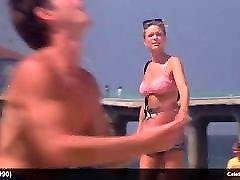 Courtney Thorne-Smith & Harley Jane Kozak topless and bikini