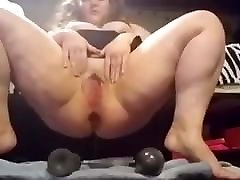 alexis fawk big tits holes filled with dildo