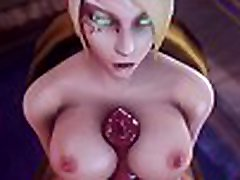 WORLD OF WARCRAFT ELF X WORGEN HARD FUCK PUSSY ANIMATION SFM