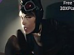 3D SEX chinese prostate massage CATWOMAN SUCKED POV