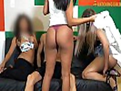 White Spanish Guy Picks Up Three Big Ass old and young lesbina girls Cousins From Mcdonalds And Has A Amazing FOURSOME