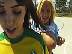 Bisex footballer teens fucked the coach after workout
