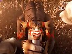 3D Video mom vs sons HM Tauren Sucked Sound