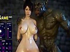 3D Huge Tits Milf Monster Fuck Game