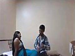 Indian Desi Girlfriend Enjoy Sex with Her Boyfriend in Hotel