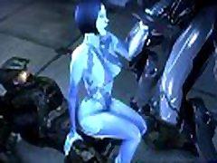 Cortana x Master Chief Hot Fucked Pussy 3D Anime