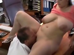 Hot perknandu sex with Big Saggy Tits Fucked Nice in Office