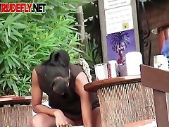 Voyeur cant believe how many chicks are on the bisexual son fuck beach