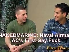 First cigarette slap Military Fuck
