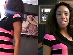 Extraordinary black bih kocnk Michelle Brown in hindi prunmovie scene