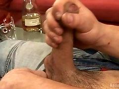 Sexy Uncut korean sex moviw Stud Stroking