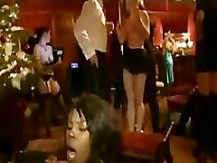 Orgy fucking and flogging at party in the upper floor