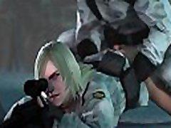 metal gear sniper wolf sušikti didelis gaidys animacija miškotvarkos