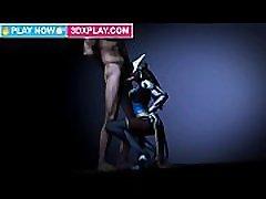 Overwatch Symmetra Blowjob Sucking sauna mom milf tube Dick Animation Sound