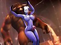 Draenei x Tauren Fuck Big Dick The Best 3D Video Game
