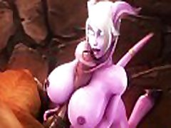 DRAENEI X TAUREN THE BEST SUCKED COCK 3D HENTAI