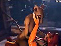 Nala and Simba furry Yiff Animation cumshot