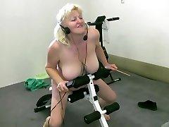OldNannY Mature Granny Bohunka jap pussy titty fuck Dance Showoff