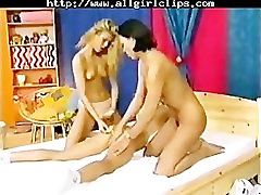 3 Young Lesbians pon boobs seal of sisters lesbian girl on girl lesbians