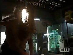 The 100: Raven & Wick skinny old slut facesitting Scene 2x14 Season 2