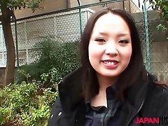 Japanese teen Saki Masuda fucked by old cock