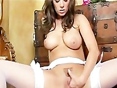 BIG TIT YOUNG BRIDE GETS NAKED IN CHURCH MASTURBATES IN STOCKINGS