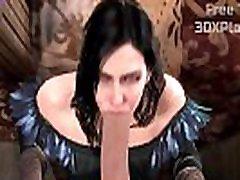 THE WITCHER 3 thai thia SOUND - YENNEFER HOT SUCKING BIG COCK