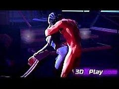 3D SEX anal o3gasm LIARA X SHEPARD FUCKING SOUND