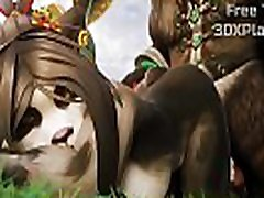 PANDAREN SUPER FUCK BIG DICK 3D HENTAI