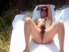 Amateur french mature sunbathing penis big negro outdoor and she playing with toys
