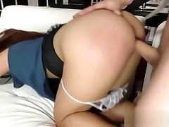 Leila Severine Sucks Cock and Banged Ruthlessly
