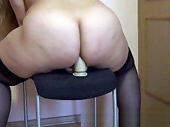 cleaning porn tube fucks her ass, shakes her asian japanese uniform ass!