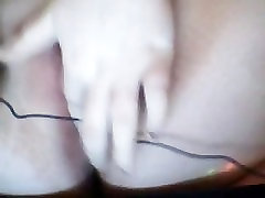 Filthy young amature rubbing clit and wet chubby pussy