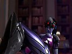 NEW VIDEO GAME BEAUTIFUL WIDOWMAKER RIDES ON A THICK DICK