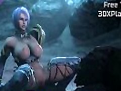 Naughty 3D Ivy from SoulCalibur VI Gave in the Ass