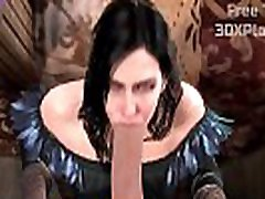THE WITCHER 3 porn syncrone SOUND - YENNEFER HOT SUCKING BIG COCK
