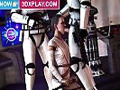 Star Wars Rey cocky lesbians Big Dick Animated SFM