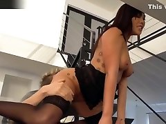 Busty London Keyes got her black and white girl farm hole stretched