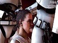 Star Wars Sex HMV - Rey Super Sucked japbox uncensored filipino swallow Dick