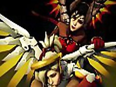 OVERWATCH PORN MERCY BLOWJOB SUCKED young small fucking mature cock COCK