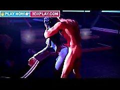Liara x Shepard Hard Fucking Big Dick 3D Porn Game