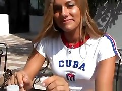Nice shaved spy seduce massage teen tart Bella Beyle making dudes dreams come true by receiveng facial cumshot