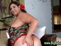 Bbw fat capri cavanni cheater strip and blowjob